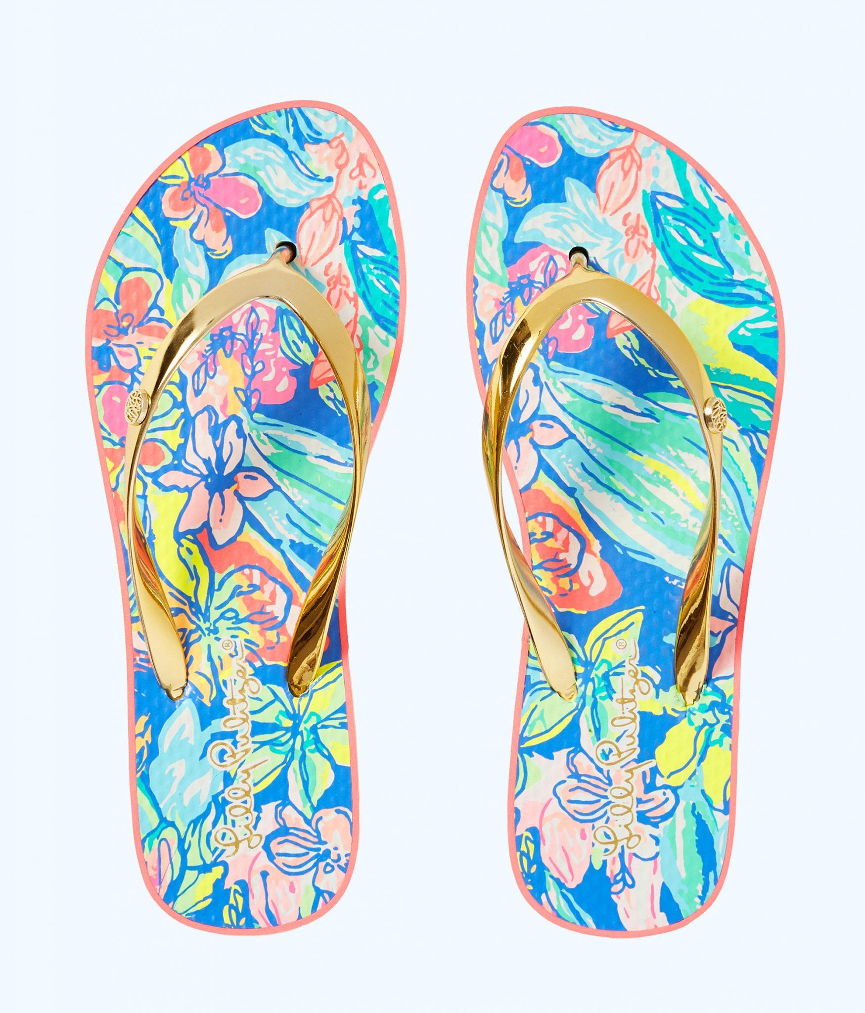 ff024371df8 POOL FLIP-FLOP - SURF GYPSEA - Lilly Pulitzer Store - Life s a Beach