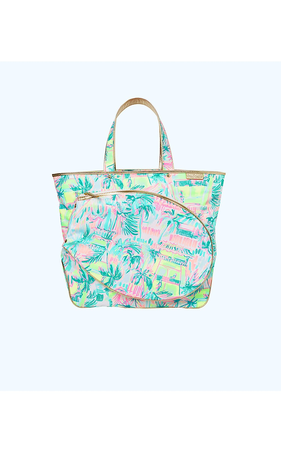Perfect Match Tennis Tote Bag