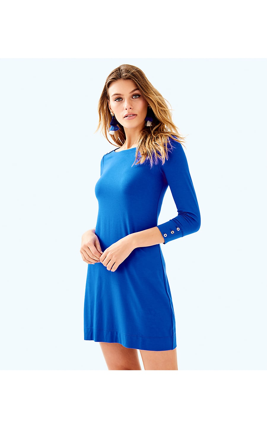 0b2ac1834af5f5 UPF 50+ SOPHIE DRESS - BLUE CURRENT - Lilly Pulitzer Store - Life's ...