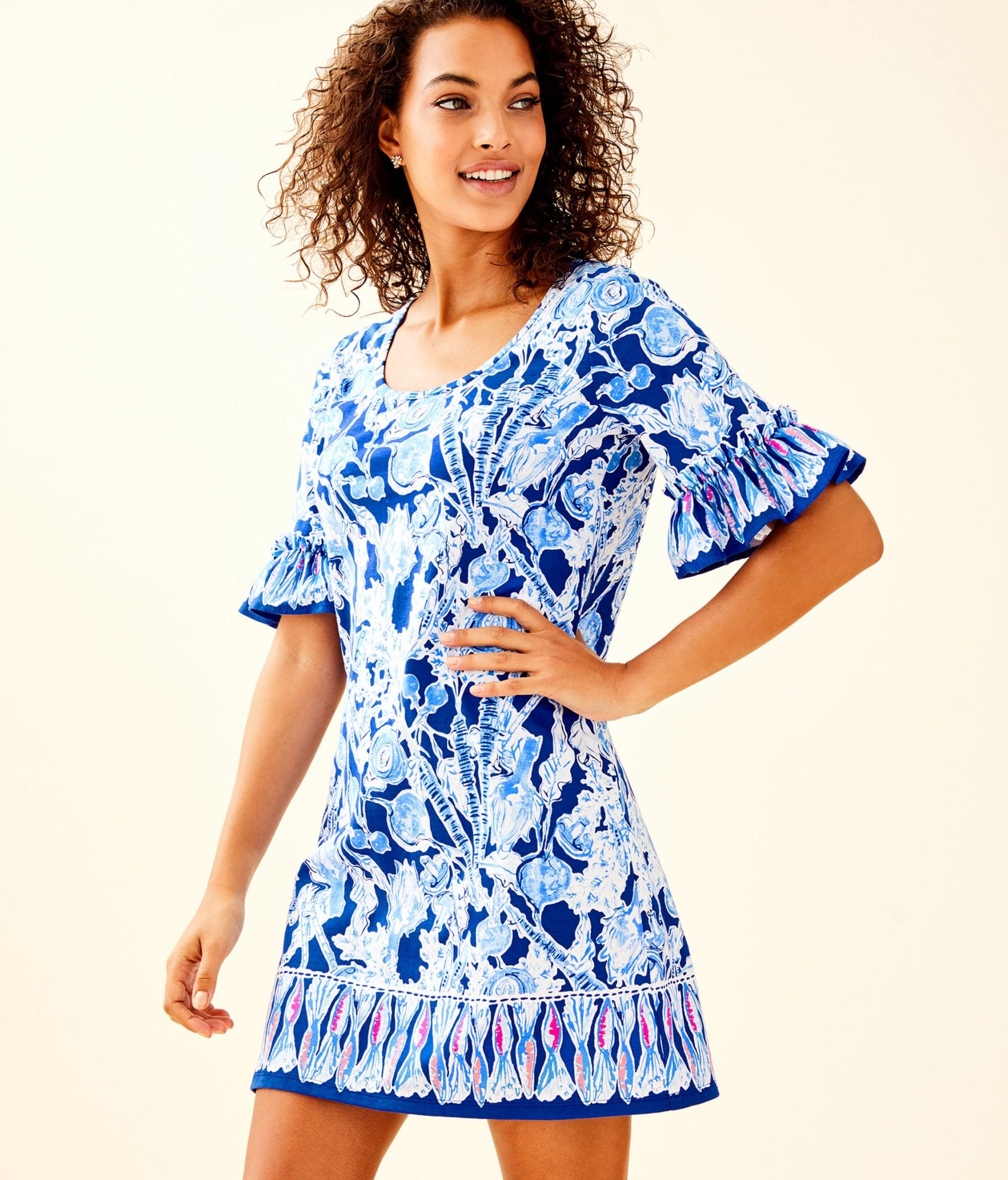 d76f9aad782 JAYDEN DRESS - PRETTY PEAS ENGINEERED - Lilly Pulitzer Store ...