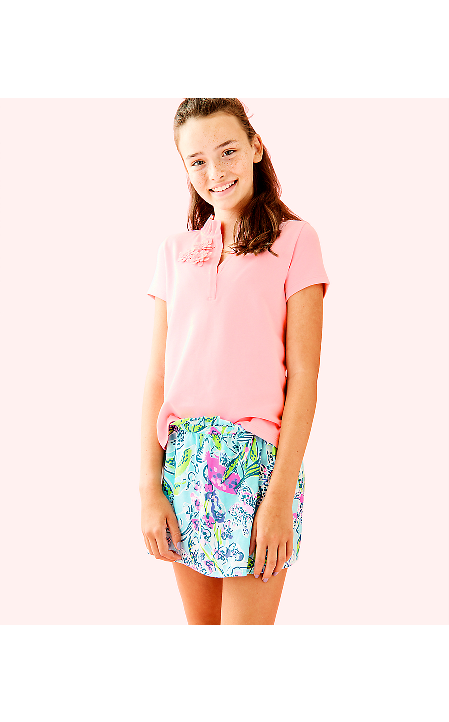 ae7acde17 KARLA SKORT -BALI BLUE SWAY THIS WAY - Lilly Pulitzer Store - Life's ...