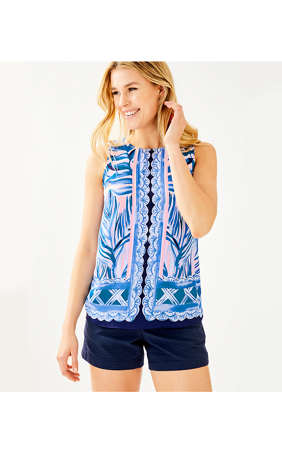 a3dfa7ce60663c IONA TOP - HEAT WAVE ENGINEERED - Lilly Pulitzer Store - Life's a Beach