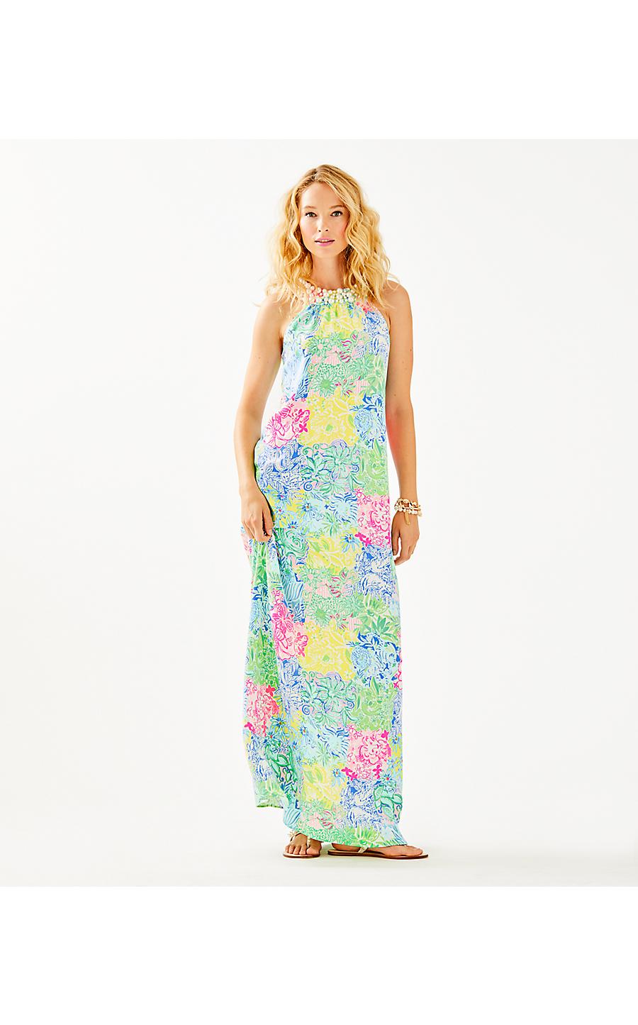90d54edd79 SHAWN MAXI DRESS - CHEEK TO CHEEK - Lilly Pulitzer Store - Life's a ...