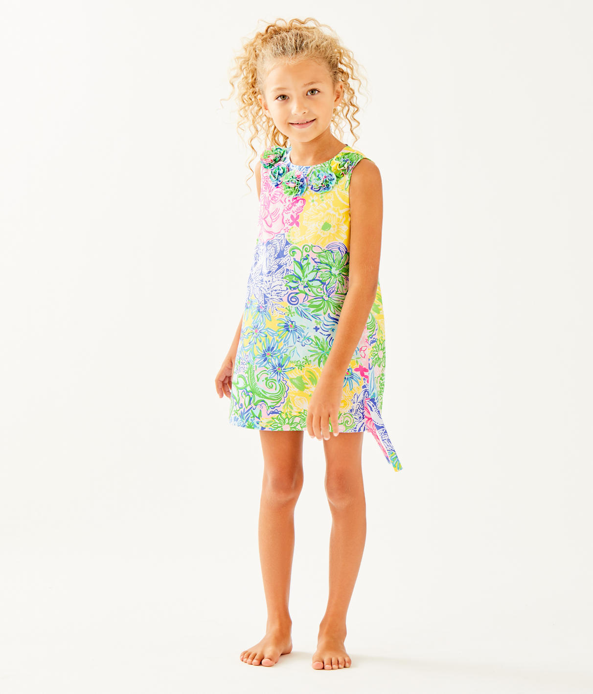 79ce40c9ed6cea LITTLE LILLY CLASSIC SHIFT - CHEEK TO CHEEK - Lilly Pulitzer Store ...