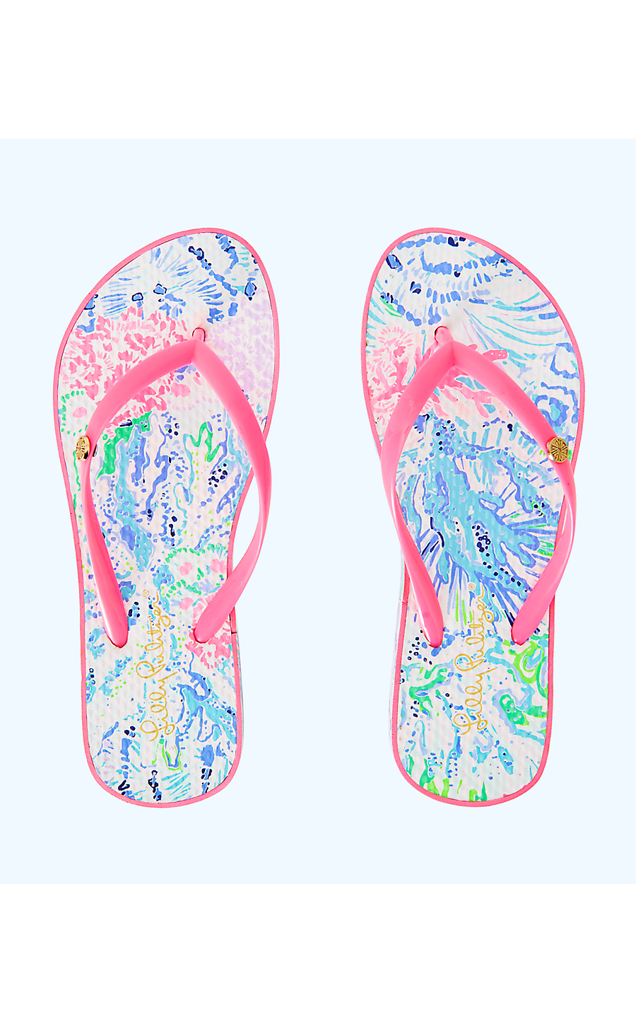ed9060cd0c255a POOL FLIP FLOP - SINK OR SWIM - Lilly Pulitzer Store - Life's a Beach