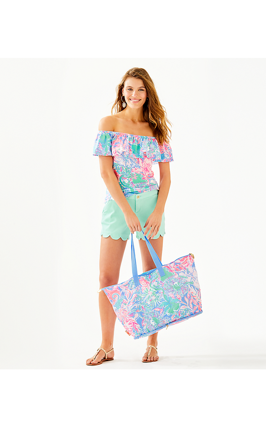 883aa5c4f75acc GETAWAY PACKABLE TOTE - VIVA LA LILLY - Lilly Pulitzer Store ...